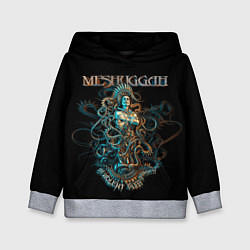 Толстовка-худи детская Meshuggah: Violent Sleep цвета 3D-меланж — фото 1