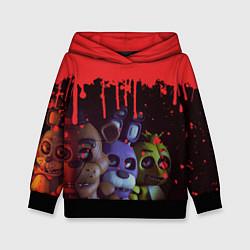 Толстовка-худи детская Five Nights At Freddys цвета 3D-черный — фото 1