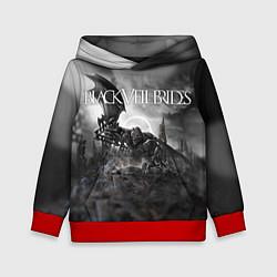 Толстовка-худи детская Black Veil Brides: Faithless цвета 3D-красный — фото 1