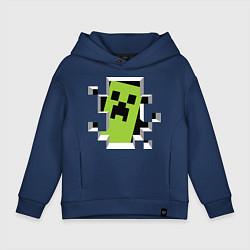 Детское худи оверсайз Crash Minecraft