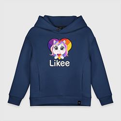 Детское худи оверсайз Likee LIKE Video