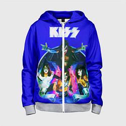 Детская толстовка на молнии Kiss Show