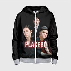 Толстовка на молнии детская Placebo Guys цвета 3D-меланж — фото 1