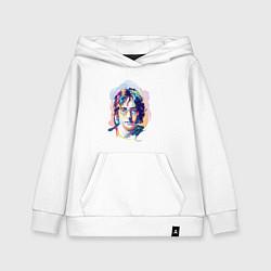 Толстовка детская хлопковая John Lennon: Art цвета белый — фото 1