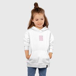 Толстовка детская хлопковая Introducing Zhu цвета белый — фото 2