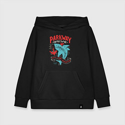 Толстовка детская хлопковая Parkway Drive: Unbreakable цвета черный — фото 1