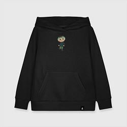 Толстовка детская хлопковая MARLOW CROSSING цвета черный — фото 1
