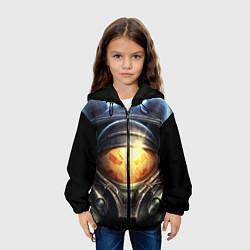 Детская 3D-куртка с капюшоном с принтом StarC 2, цвет: 3D-черный, артикул: 10109228605458 — фото 2