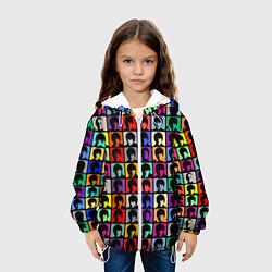Куртка 3D с капюшоном для ребенка The Beatles: pop-art - фото 2