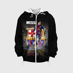 Куртка 3D с капюшоном для ребенка Messi FCB - фото 1