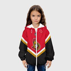 Куртка с капюшоном детская NHL: Ottawa Senators цвета 3D-белый — фото 2