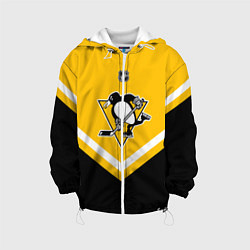 Куртка с капюшоном детская NHL: Pittsburgh Penguins цвета 3D-белый — фото 1