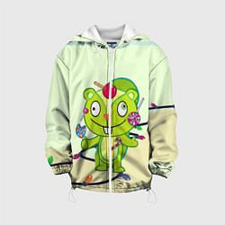 Куртка 3D с капюшоном для ребенка HTF: Nutty Sweet - фото 1