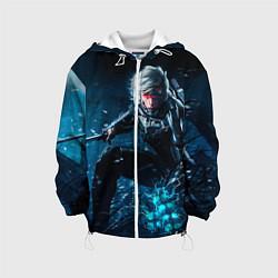 Куртка с капюшоном детская Metal gear solid 4 цвета 3D-белый — фото 1