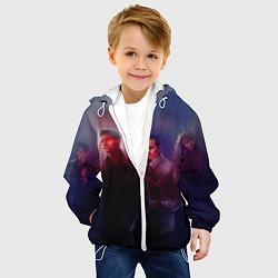Куртка с капюшоном детская Teen Wolves цвета 3D-белый — фото 2