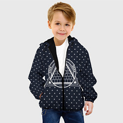 Куртка с капюшоном детская Illuminati цвета 3D-черный — фото 2