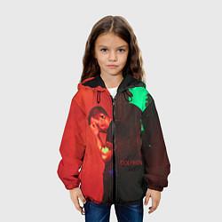 Куртка с капюшоном детская Dolphin Pain цвета 3D-черный — фото 2