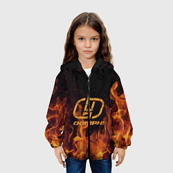 Куртка с капюшоном детская OOMPH! цвета 3D-черный — фото 2