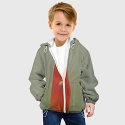 Детская 3D-куртка с капюшоном с принтом Унесенные призраками, цвет: 3D-белый, артикул: 10161273705458 — фото 2