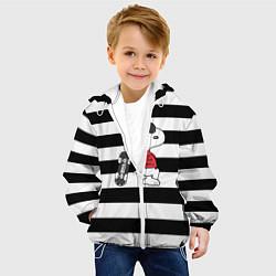 Куртка с капюшоном детская Vans Doggy цвета 3D-белый — фото 2