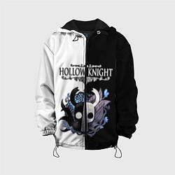 Куртка 3D с капюшоном для ребенка Hollow Knight Black & White - фото 1