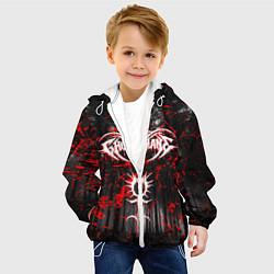 Детская 3D-куртка с капюшоном с принтом GHOSTEMANE, цвет: 3D-белый, артикул: 10193595105458 — фото 2