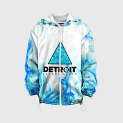 Куртка с капюшоном детская DETROIT BECOME HUMAN цвета 3D-белый — фото 1