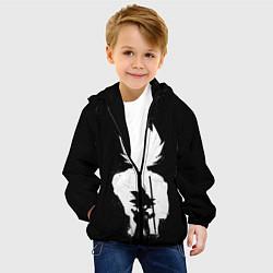 Детская 3D-куртка с капюшоном с принтом Mini Dragon Ball, цвет: 3D-черный, артикул: 10203156905458 — фото 2