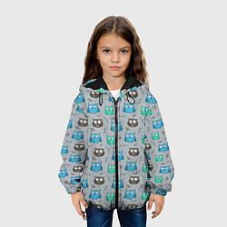 Куртка 3D с капюшоном для ребенка Совята - фото 2