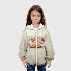Детская 3D-куртка с капюшоном с принтом С ДНЁМ ПОБЕДЫ!, цвет: 3D-белый, артикул: 10214396505458 — фото 2