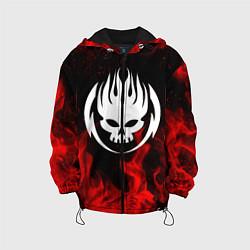 Куртка с капюшоном детская THE OFFSPRING цвета 3D-черный — фото 1
