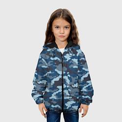 Куртка 3D с капюшоном для ребенка Камуфляж МВД - фото 2