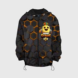 Куртка с капюшоном детская Brawl Stars Robot Spike цвета 3D-черный — фото 1