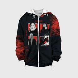 Детская 3D-куртка с капюшоном с принтом BLACKPINK, цвет: 3D-белый, артикул: 10267085305458 — фото 1