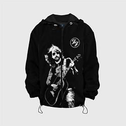 Детская 3D-куртка с капюшоном с принтом FOO FIGHTERS, цвет: 3D-черный, артикул: 10274948705458 — фото 1