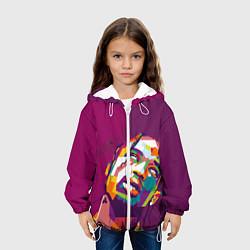 Детская 3D-куртка с капюшоном с принтом Travis Scott, цвет: 3D-белый, артикул: 10277697505458 — фото 2