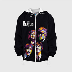 Куртка 3D с капюшоном для ребенка The Beatles - фото 1