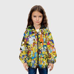 Куртка 3D с капюшоном для ребенка Simpsons Stories - фото 2