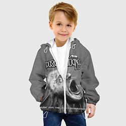 Куртка с капюшоном детская The Prodigy: Madness цвета 3D-белый — фото 2