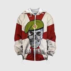 Куртка 3D с капюшоном для ребенка Череп: ВВ МВД - фото 1
