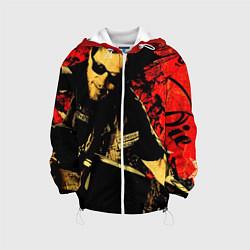 Детская 3D-куртка с капюшоном с принтом Redwood original, цвет: 3D-белый, артикул: 10078855705458 — фото 1