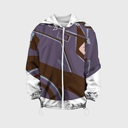 Куртка с капюшоном детская Knights Headgear цвета 3D-белый — фото 1