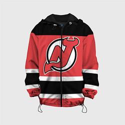 Куртка 3D с капюшоном для ребенка New Jersey Devils - фото 1