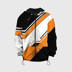 Куртка с капюшоном детская CS:GO Asiimov цвета 3D-черный — фото 1