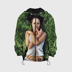 Куртка с капюшоном детская Анджелина Джоли цвета 3D-черный — фото 1