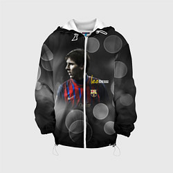 Куртка 3D с капюшоном для ребенка Leo Messi - фото 1