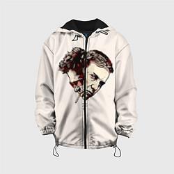 Куртка с капюшоном детская Fight Club: Friends цвета 3D-черный — фото 1