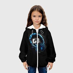 Куртка с капюшоном детская DJ цвета 3D-белый — фото 2
