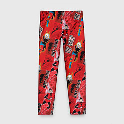 Леггинсы для девочки Ant-man & The Wasp цвета 3D — фото 1