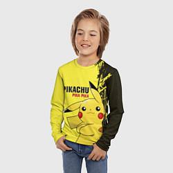 Лонгслив детский Pikachu Pika Pika цвета 3D-принт — фото 2